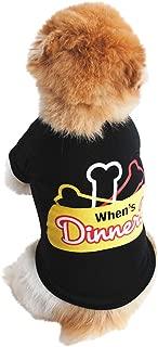 Fudule Pet Dog Summer Clothes Super Cute Puppy Small Dogs Vest T Shirt Soft Cotton Pet Clothing Fashion Cat Dog Apparel