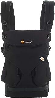 (跨境自營)(包稅) ERGObaby 四式360嬰兒背帶-黑色BC360ABLK(進口)