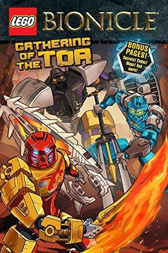 LEGO Bionicle: Gathering of the Toa (Graphic Novel #1) by Ryder Windham (2015-12-29)