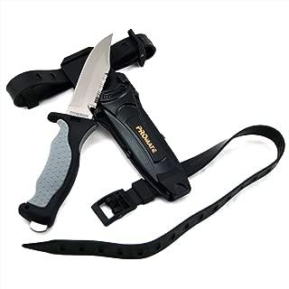 Promate Scuba Dive Snorkel Titanium Knife (4 3/8
