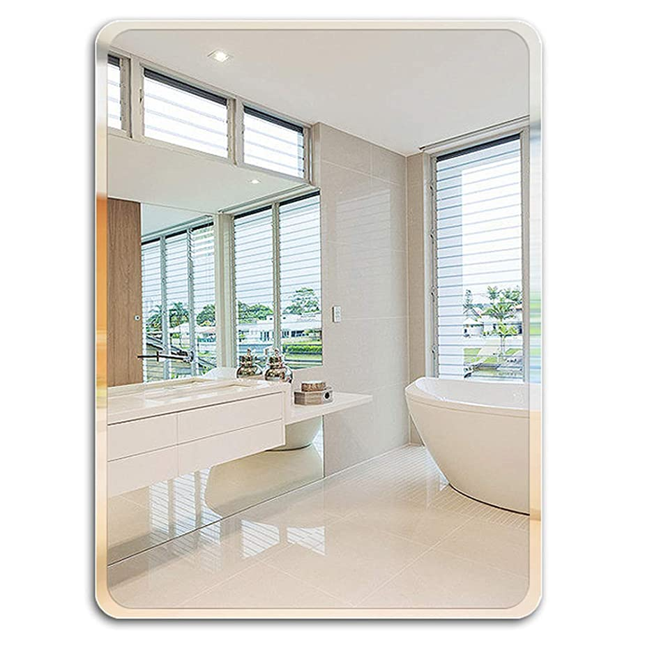 廃棄する放棄するバスルームの鏡/円形金属製壁掛け鏡/錬鉄製ボーダー化粧鏡/エントランスチャンネル用モダンインテリア/バスルーム/リビングルーム