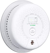 X-Sense Smoke Detector 10 Year Battery Operated with Escape Light, Compliant with UL 217 Standard, Photoelectric Sensor for Preventing False Alarms, SD01