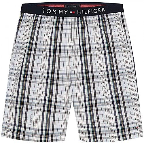 Tommy Hilfiger Pantalones Cortos De PJ Tejidos, MLU/Multi/yd/Plaid XL MLU/Multi/yd/Plaid