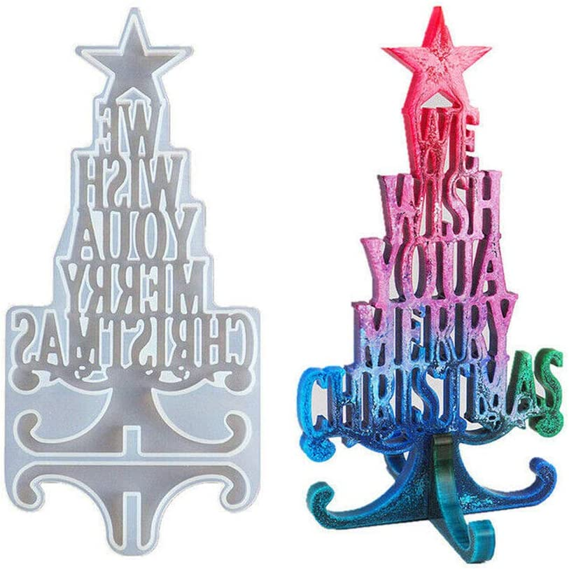 Merry Choice Christmas gift Silicone Mold Casting Resin Epoxy Jewelry