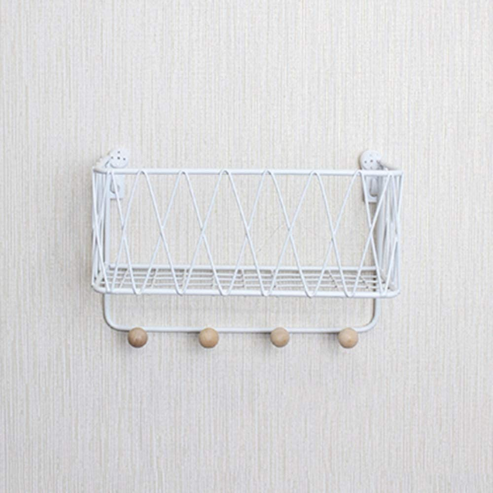 Max 84% OFF Wall Mounted Shelf Floating Coat R Sale item Shelves Hook