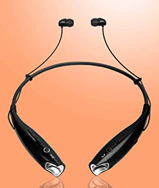 Richvolt Bluetooth Wireless Neckband Earphones for OnePlus Nord 5G, 8T, 7T, Redmi Note 9 Pro, 9A, Redmi 9 Prime, 8A, Samsung Galaxy M31, M01, M21, M51, M31s, A11, Oppo A31, A52, A12, Vivo V20 Pro, V19