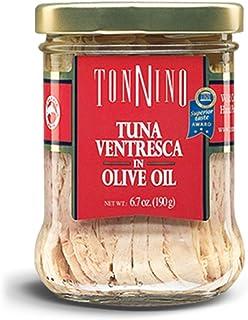 Tonnino Ventresca Tuna in Olive Oil 6.7 oz. Jars Pack of 6