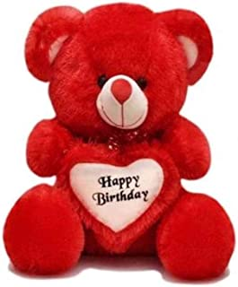 Bigstep Very Soft 2 Feet Lovable/Huggable Happy Birthday Teddy Bear for Girlfriend/Birthday Gift/Boy/Girl ,Re