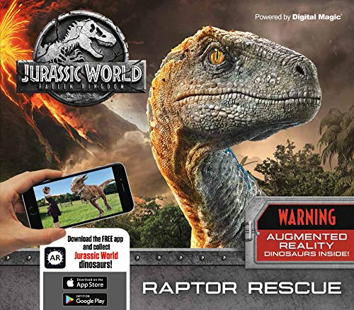 Jurassic World Fallen Kingdom: Raptor Rescue: Augmented Reality Dinosaurs Inside!
