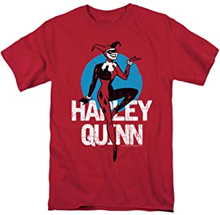 Batman: The Animated Series Harley Quinn T Shirt & Stickers