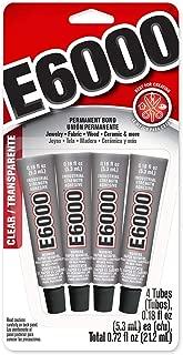 E6000 5510310 Craft Adhesive Mini (4 Pack)