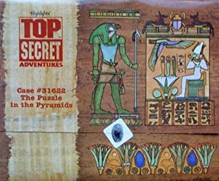 Highlights Top Secret Adventures: Egypt Kit (Case #31622 The Puzzle In The Pyramids)