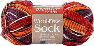 Premier Yarns Flame Wool-Free Sock Yarn