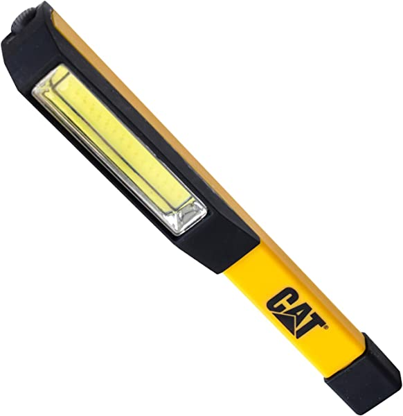 Cat CT1000 Pocket COB Light Brilliantly Bright 175 Lumen COB LED Flood Beam Pocket Work Light Black Yellow
