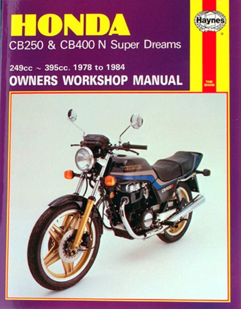 Haynes Manual Inventory cleanup selling sale 540 HON CB250N 78-84+T11329 SUPER Max 46% OFF 400N DREAM