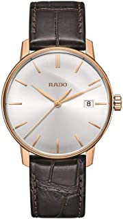 Rado Unisex-Adult Quartz Watch, Analog Display and Leather Strap R22866105
