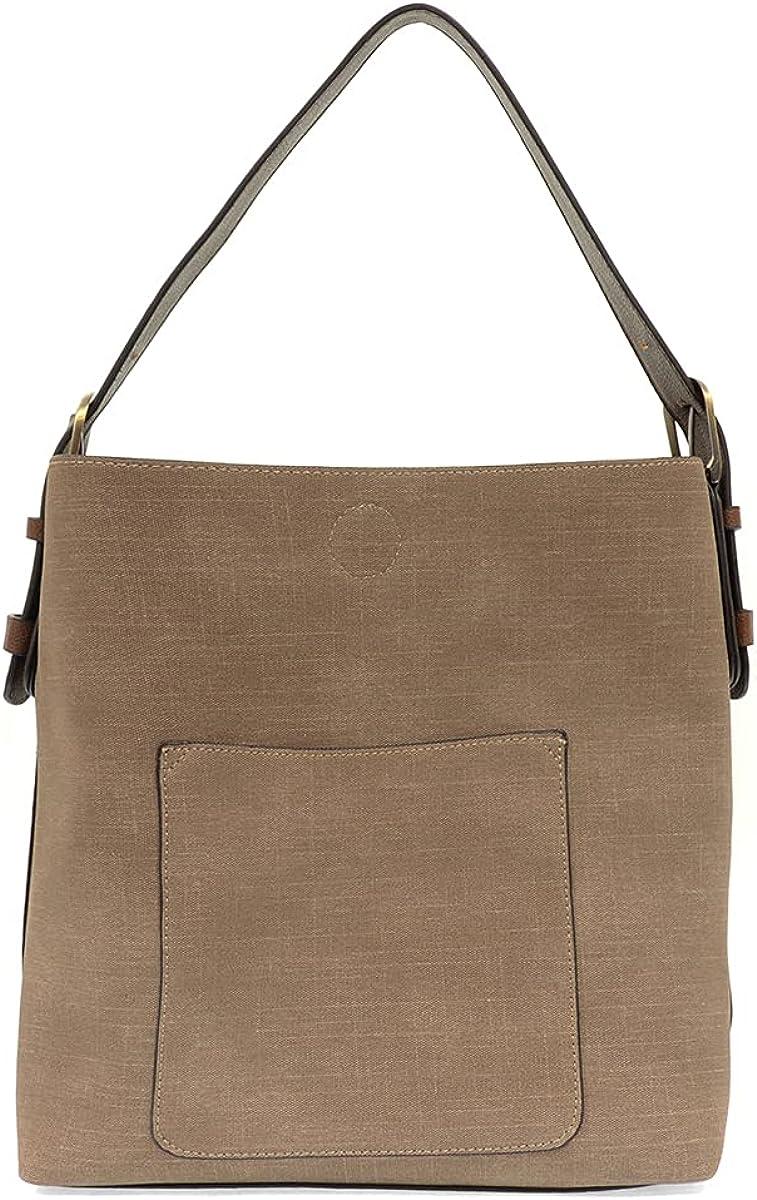 Joy OFFer Susan Women's Hobo Linen 2-in-1 Handbag: mart Faux