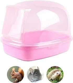 Chinchilla Dry Bath, Hedgehog Sand Room Sauna Toilet Small Animal Bath House, Degus Squirrel Dust Bath 9.4