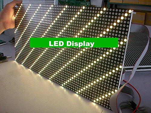Gowe Dual Farbe Dot Matrix LED Display Modul 244* 488mm Pitch 7,62mm für Bus LED Destination Schild