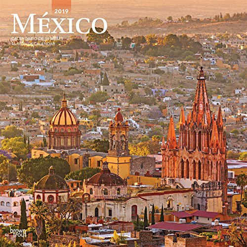 Mexico 2019 Square Wall Calendar