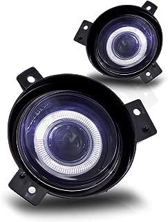 01-05 Ford Ranger Halo Projector Fog Lights Clear Lens Pair