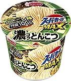 スーパーカップMAX とんこつラーメン 120g ×12食