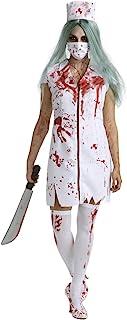 Déguisement d'infirmière zombie pour femme - blanc - Large