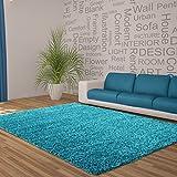alfombra turquesa lisa