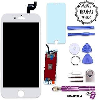 878e332b3f7 UBaymax Kit de Reemplazo Compatible con iPhone 6S Blanco con Herramientas  Magnéticas y Pantalla Táctil LCD