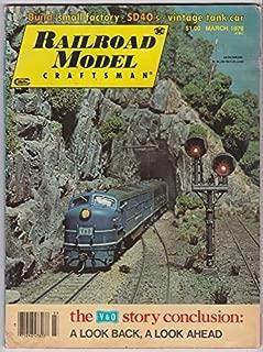 Railroad Model Craftsman Magazine, March 1978 (Vol. 46, No. 10)