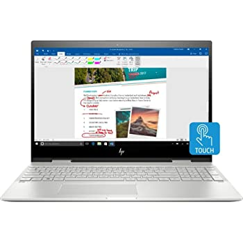 "CUK HP Envy x360 15T Touchscreen Business Laptop (Intel i7-10510U, 16GB RAM, 1TB NVMe SSD, NVIDIA MX250 4GB Graphics, 15.6"" 4K AMOLED Touch Display, Windows 10 Pro) Professional Notebook Computer"