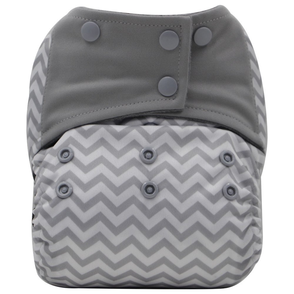 AIO Reusable Washable Cloth Diaper Nappy Charcoal Bamboo Insert Overnight A35