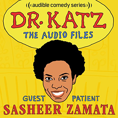 Ep. 14: Sasheer Zamata (Dr. Katz: The Audio Files) audiobook cover art