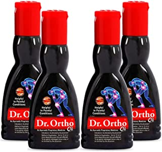Dr. Ortho Pain Relief Oil, 60ml (Pack of 4)