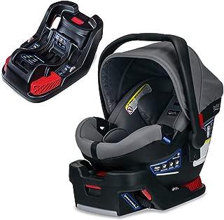 Britax B-Safe Ultra Infant Car Seat, Gris with Extra Base Bundle