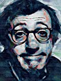 Posters-Galore Woody Allen Film Director Art Print Poster