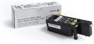 $65 » Genuine Xerox Yellow Toner for the Phaser 6022 or WorkCentre 6027, 106R02758