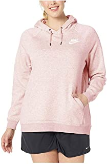 nike women's sportswear rally hoodie red