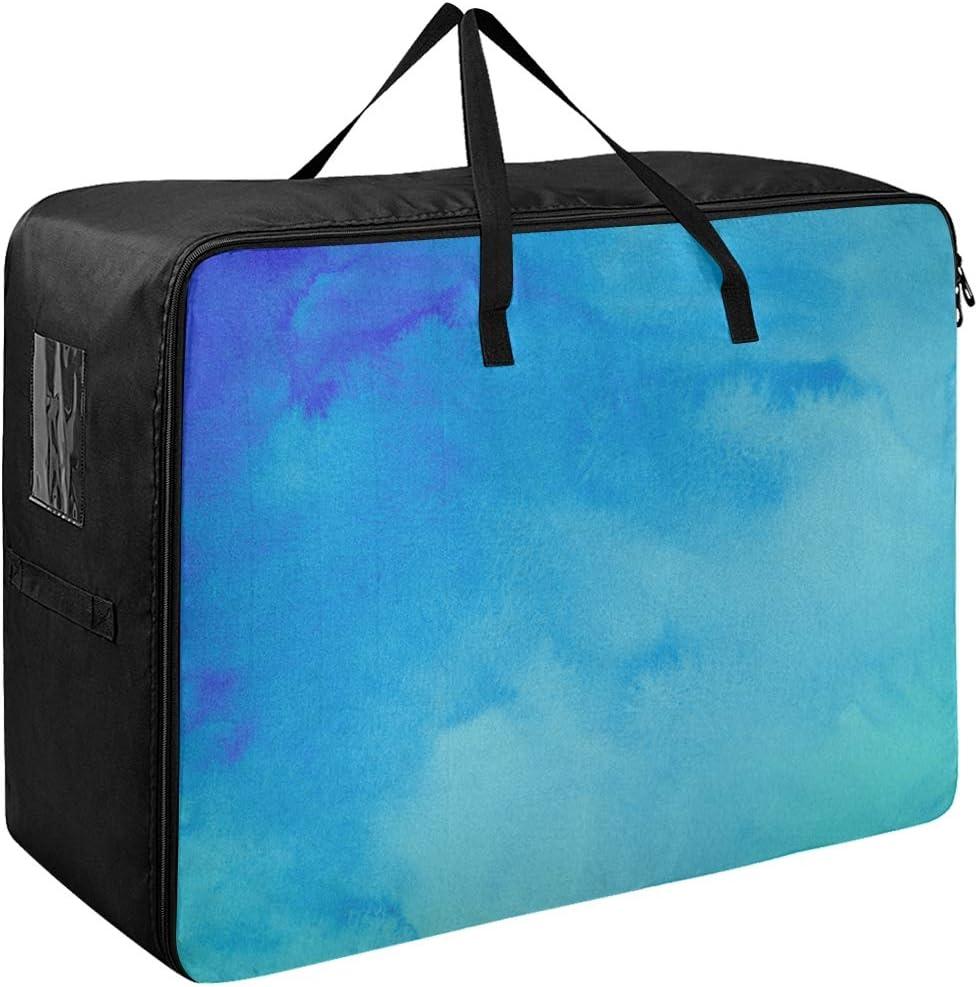 Liaosax Clothing Garment Storage Bags Cheap bargain Turquois Colorful Bohemian quality assurance