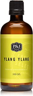 P&J Trading Ylang Ylang Fragrance Oil for Candle Making, Soap Making, Slime, Diffusers, Home, and Crafts - 100ml