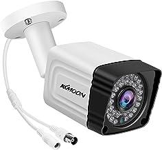 Queenser Câmera analógica de segurança 1080P 36pcs IR LED Night Vision 100 pés ao ar livre à prova d'água Câmera de vigilâ...