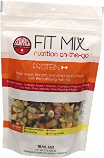 Germack Pistachio Company, Fit Mix for Targeted Nutrition with Nuts Seeds Dried Fruit, 9 oz Resealable Bag, Protein
