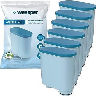 Wessper Waterfilter compatibel met Philips AquaClean CA6903/10 CA6903/22 CA6903 kalkfilter, Aqua Clean filterpatroon voor ...