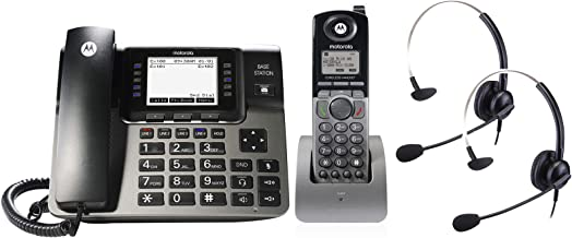 $279 » Motorola ML1250E DECT 6.0 Expandable 4-line Business Phone System with Voicemail, Digital Receptionist and Music on Hold, ...