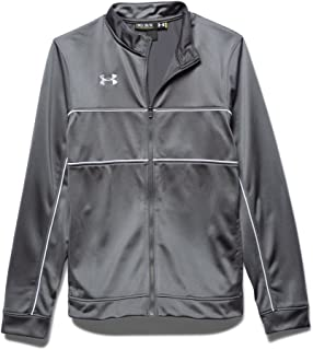 ua rival knit warm up jacket