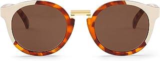 MR.BOHO - Cream/leo tortoise fitzroy with classical lenses - Gafas De Sol unisex multicolor (carey), talla única