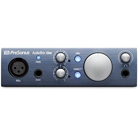 PreSonus オーディオインターフェイス AudioBox iOne [Studio One Artist 付属]