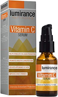 Vitamin C Serum, Advanced Brightening Formula with Natural Ingredients, Promote Healthy & Brighter Skin, Reduces Acne, Hydrates & Smooths Fine Lines for All Skin Types 1oz / 30ml