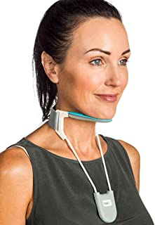 BackPainHelp Neck Brace, a Revolutionary Cervical Collar That Provides Light Support While Being Breathable, Cool and Lightweight (Blue Small)