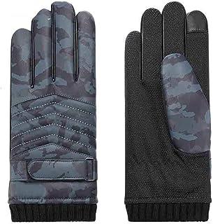 GHjkj Winter Outdoor Mens Womens Windproof Waterproof Mountaineering Non-Slip Gloves Motorcycle & ATV Design : Male Gloves